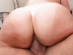 Big asses milf Vanessa Videl sits her muff on a massive cock she really enjoys
