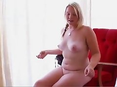 BEUTIFUL BLONDE ALLISON PALE SKIN AND PINK NIPPLES 2