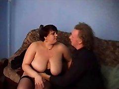 British  BBW Granny